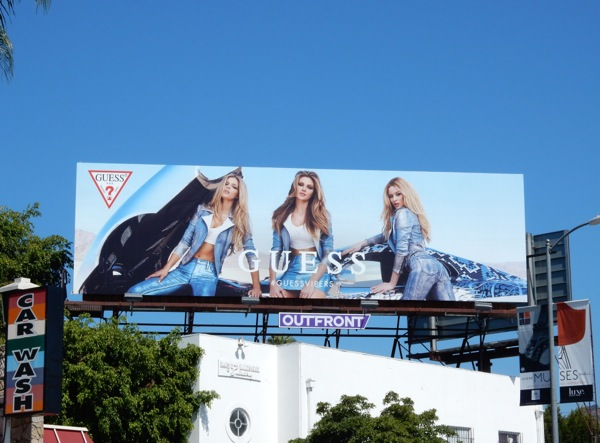 Guess Vipers billboard