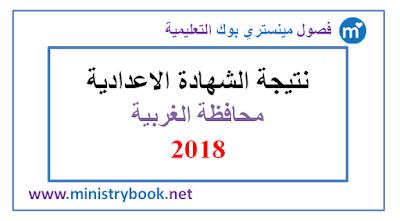نتيجة الشهادة الاعدادية محافظة الغربية 2018 برقم الجلوس