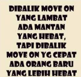 Kata Kata Move On