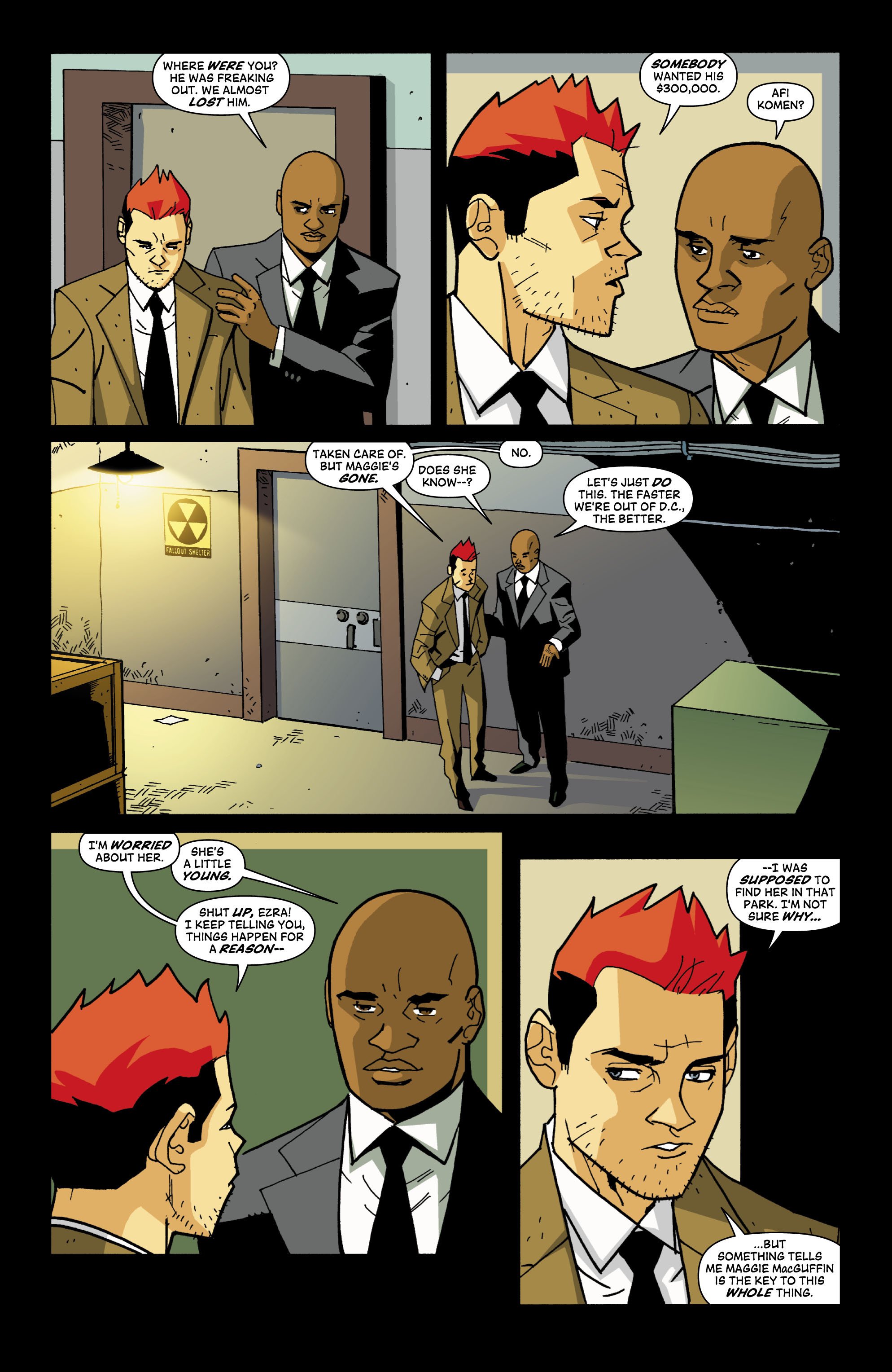 Read online Red Herring comic -  Issue #4 - 18