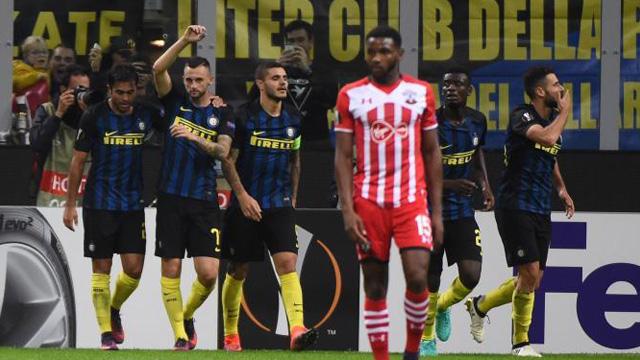 [Video] Cuplikan Gol Inter Milan 1-0 Southampton (Liga Eropa)