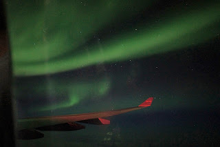 Northern Lights from our WOW Air flight