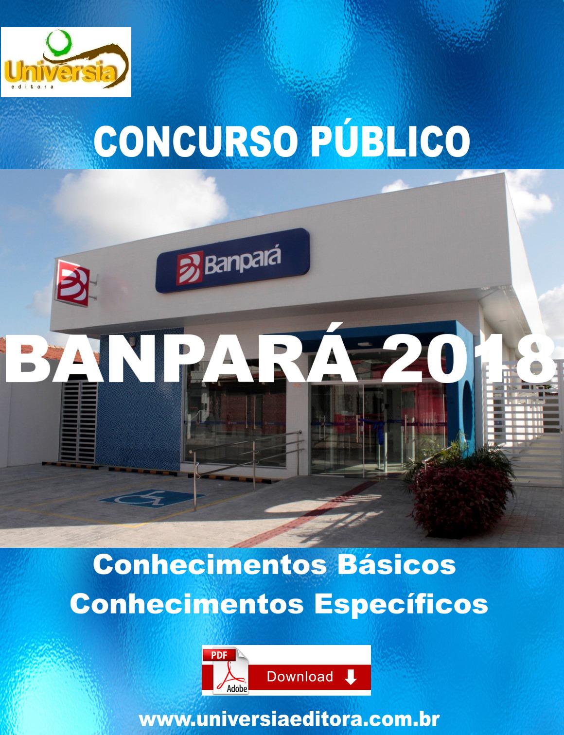 65b624e9c http://universiaeditora.com.br/apostila-banpara-2018-tecnico-bancario -video-aulas.html