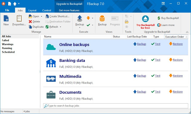 Free Backup Software for Windows