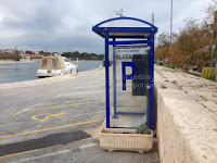 parking Supetar slike otok Brač Online