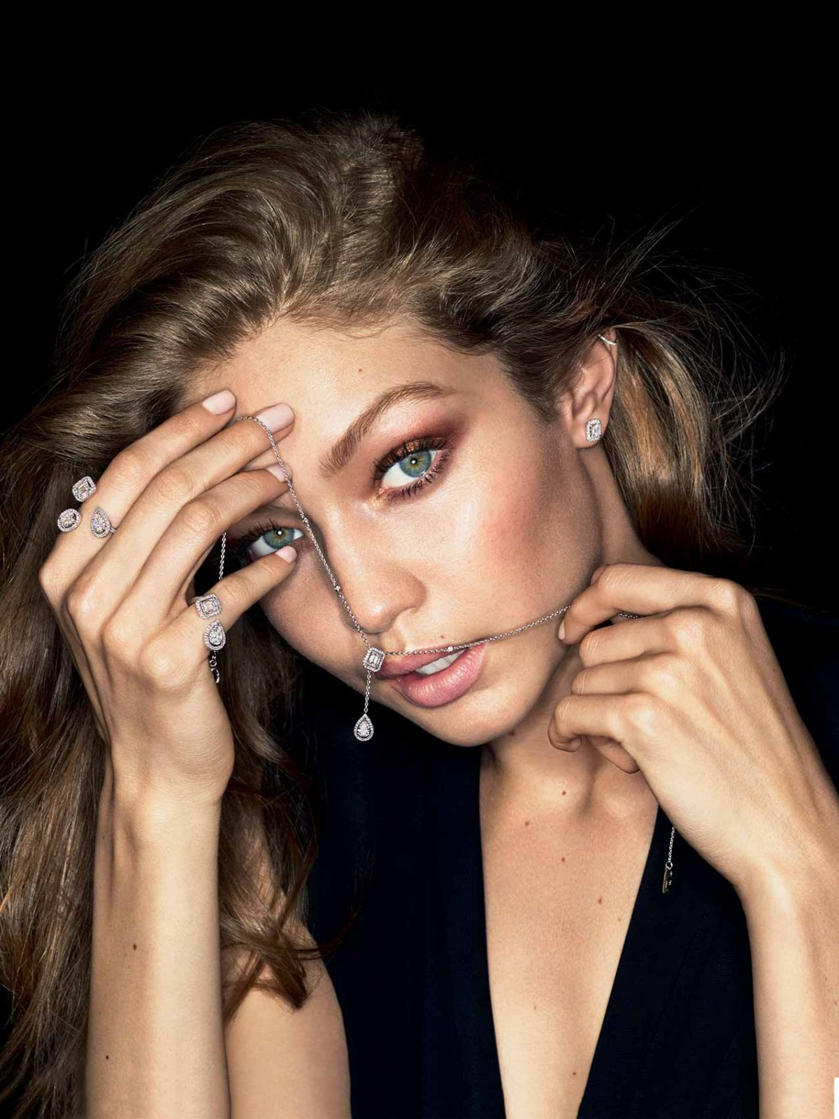 Gigi Hadid For Messikas My Twin Jewelry 2018 Campaign