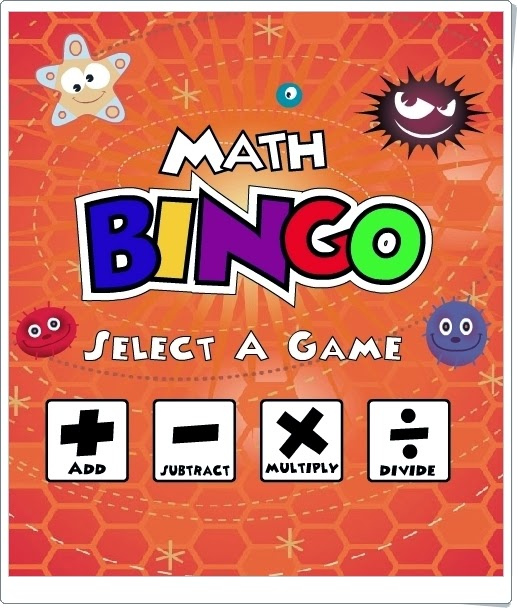 """Math Bingo"" (Juego de cálculo mental)"
