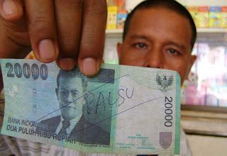 peredaran Uang palsu
