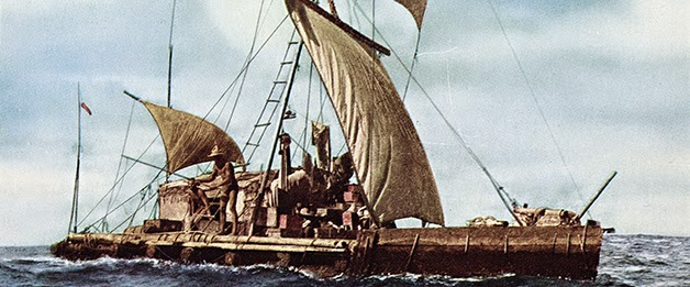 Thor Heyerdahl and the Kon-Tiki