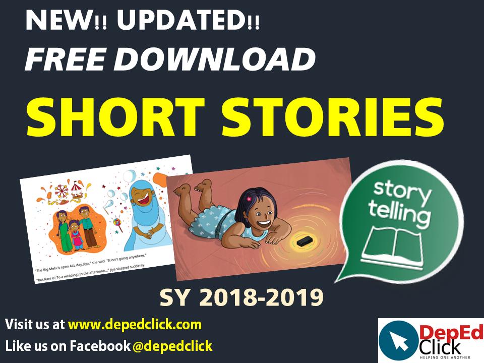 SHORT STORIES (English and Tagalog) - DepedClick