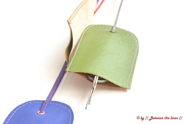 Como hacer un Llavero Necklace-Chic