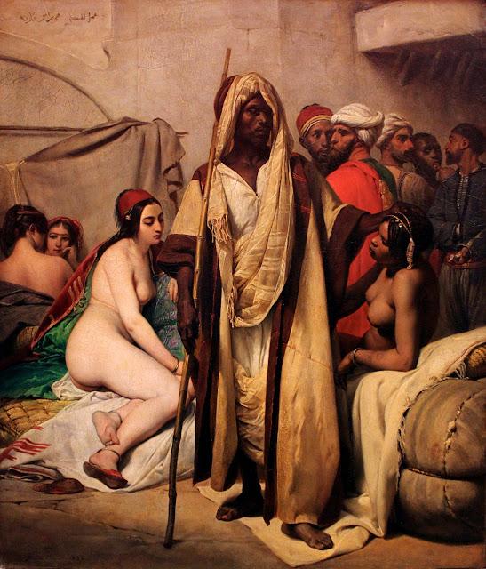 Horace Vernet: Il mercato degli schiavi