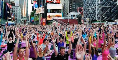 Bạn sẽ bất ngờ về sự phổ biến của việc tập luyện Yoga ngày nay