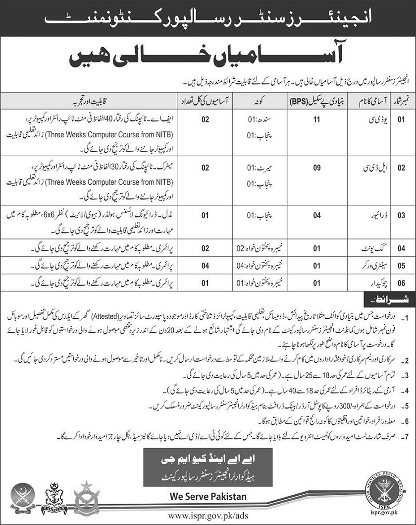 Join Pak Army, Jobs in Pakistan, Latest Jobs in Pakistan