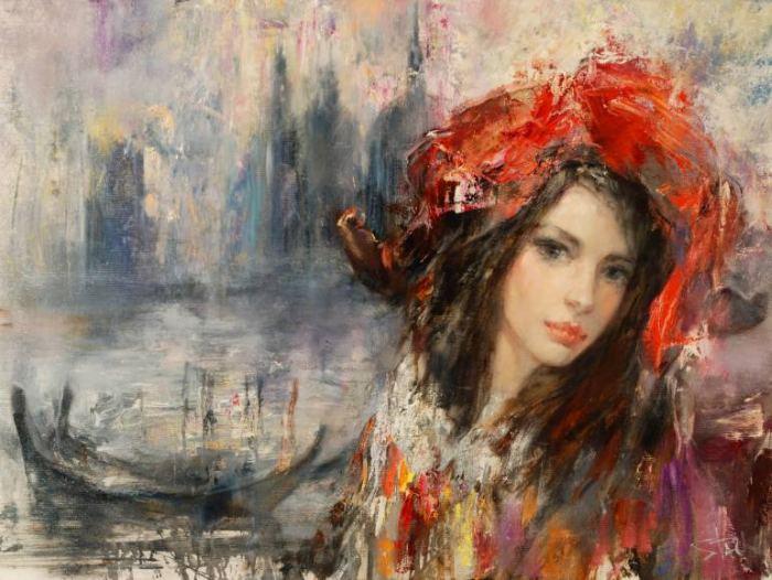 Литовский художник. Stas Sugint