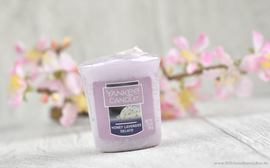 Yankee Candle - Honey Lavender Gelato - Review & Duftbeschreibung