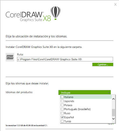 CorelDRAW Graphics Suite X8 Version 18.0 Full Español