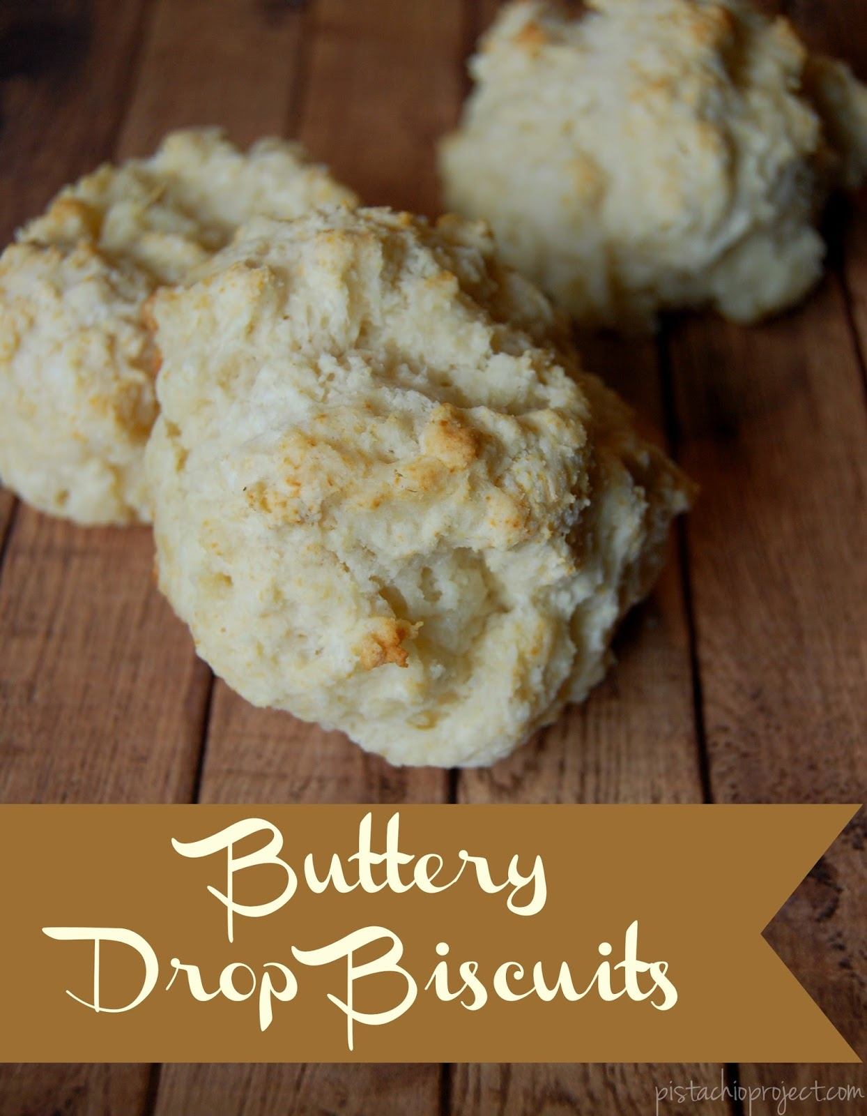 Buttery Drop Biscuits