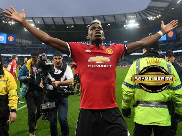 Agen Bola Terpercaya - Pogba 'Saya Bersumpah Takkan Biarkan City Menang Lawan United !'