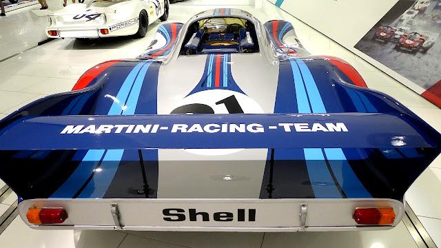 Porsche Museum in Stuttgart Le Mans Winner Martini Racing