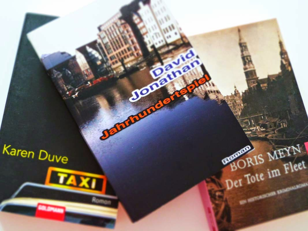 Hamburg Romane, Hamburg Krimis, Roman über Hamburg, Jahrhunderspiel, Taxi, Der Tote im Fleet