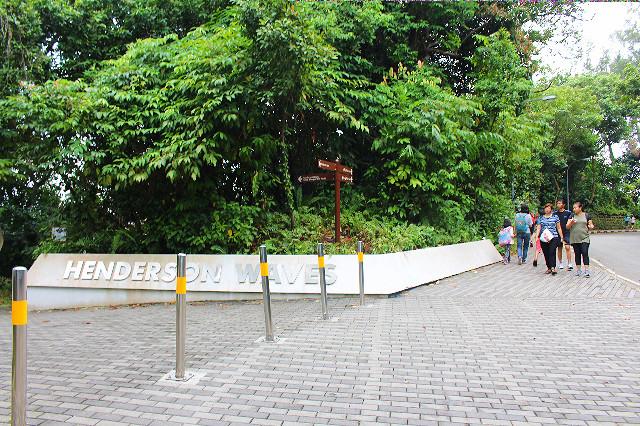 jembatan henderson waves singapura