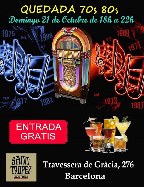 Flyer Quedada 70s 80s