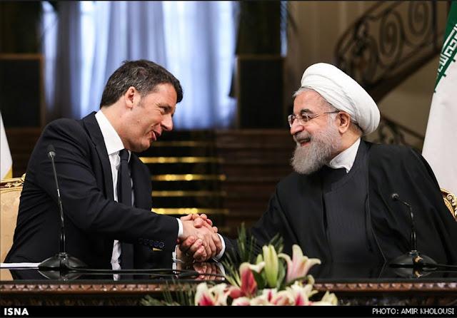 ISNA , Renzi, Rouhani