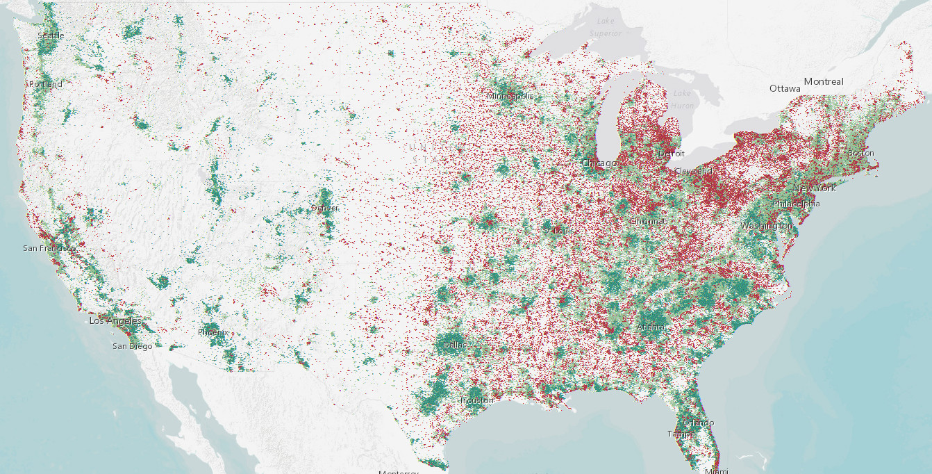A Simple Map of Future Population Growth and Decline