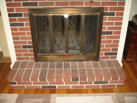 The New Mama Diaries Baby proofing a raised brick hearth