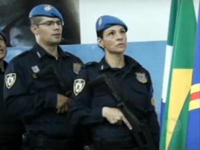 Guarda Municipal de Campo Grande (MS) forma 103 patrulheiros aptos ao uso de arma de fogo