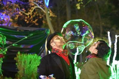 Παραστάσεις, ταινίες, bubble shows και παραμύθια με τον Ηλ. Λογοθέτη στα «Ασημένια Χριστούγεννα»
