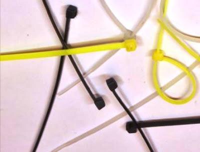 0 kabel ties sekali pakai