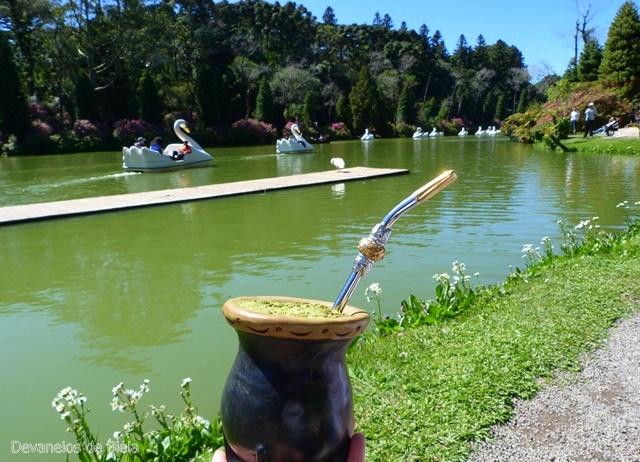 Lago Negro de Gramado e seus pedalinhos