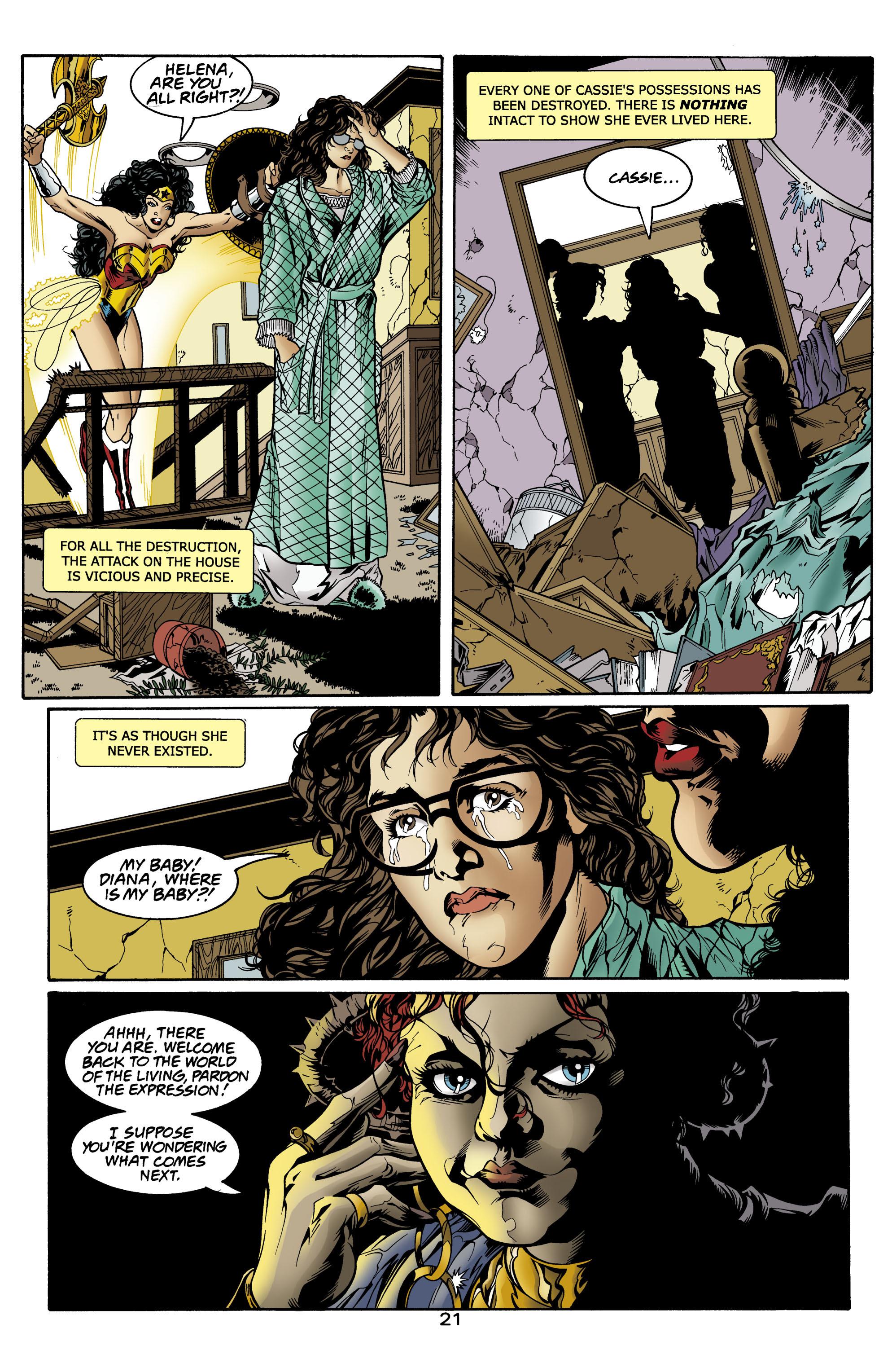 Read online Wonder Woman (1987) comic -  Issue #156 - 22