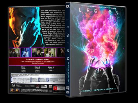 Capa DVD Legion - 1ª Temporada [Custom]