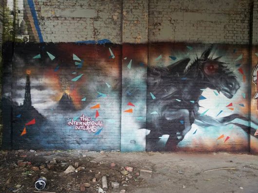 Best of 2015 Sheffield Graffiti / street art