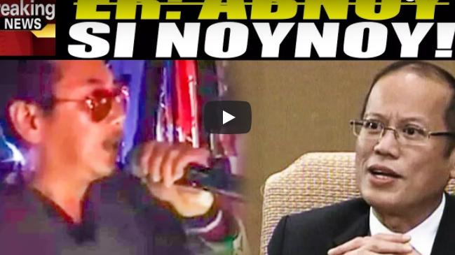 ER Ejercito Matindl Ang Banat Kay Pnoy At Sa Liberal Party