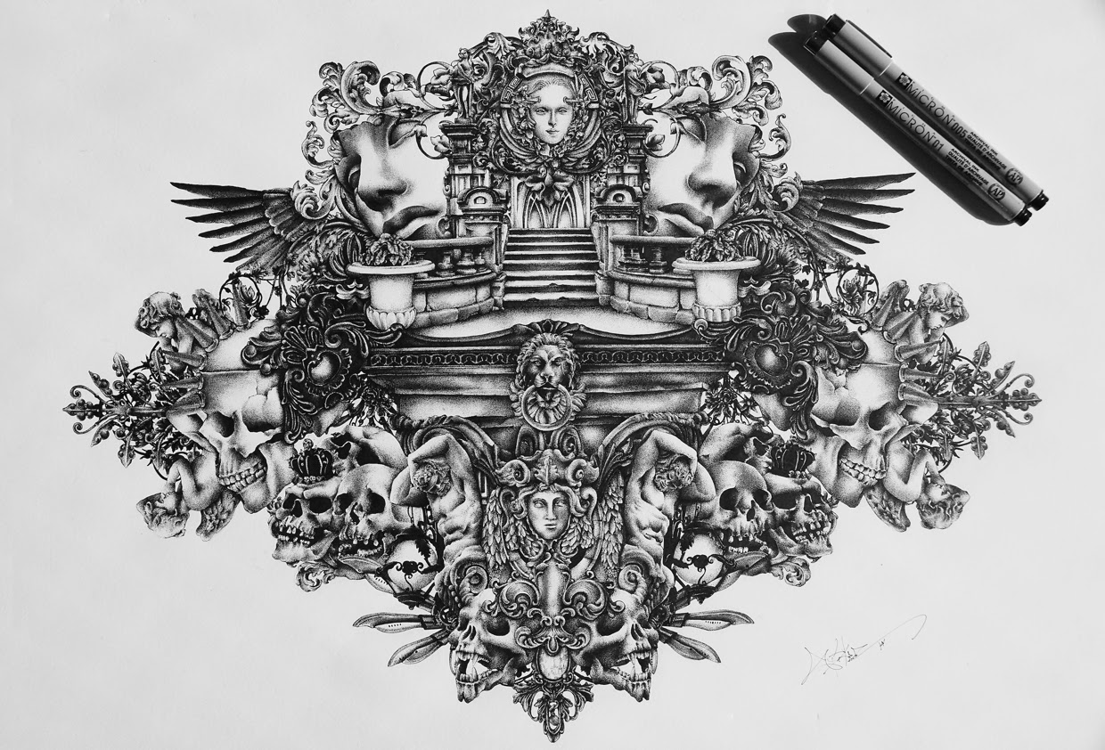 08-Pride-and-Glory-Spider-Money-Game-of-Thrones-Drawings-and-Detailed-Illustrations-www-designstack-co