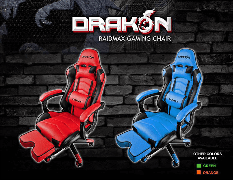 Raidmax Drakon gaming chairs now available in the Philippines!