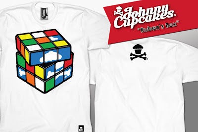 "Johnny Cupcakes Rubik's Cube Inspired T-Shirt ""Ruben's Box"""