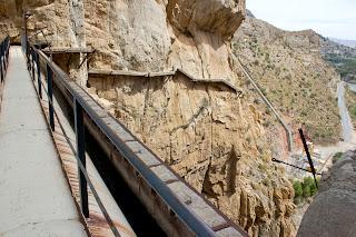 Caminito del Rey Alora Malaga Estado Anterior a Remodelacion
