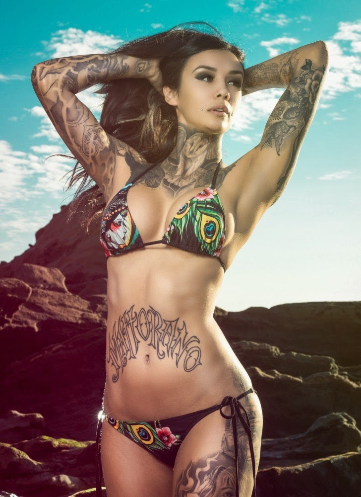 Erika Young Sexy Tattooed Girls