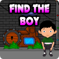 AVMGames Find The Boy Walkthrough