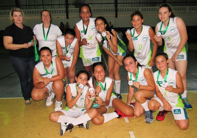 Basquete de Avaré  feminino é vice-campeão
