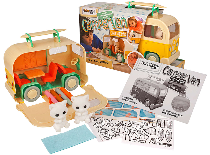 Win a Fuzzikins Campervan Carry Case