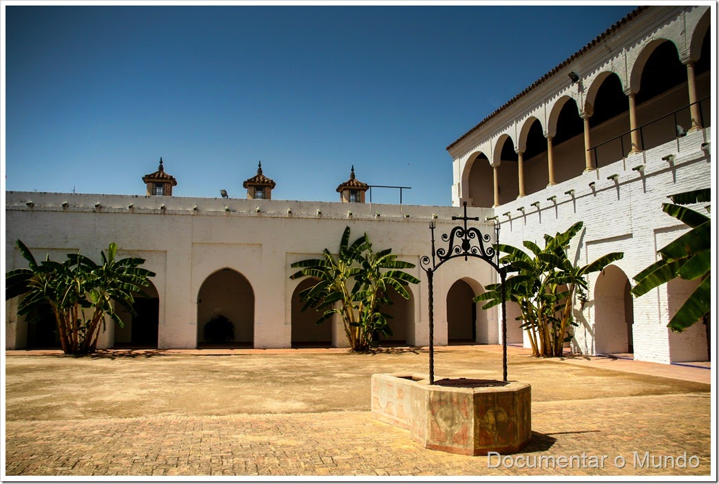 Claustro de las Madres, Mosteiro de Santa Clara, Lugares columbinos, Moguer, Espanha