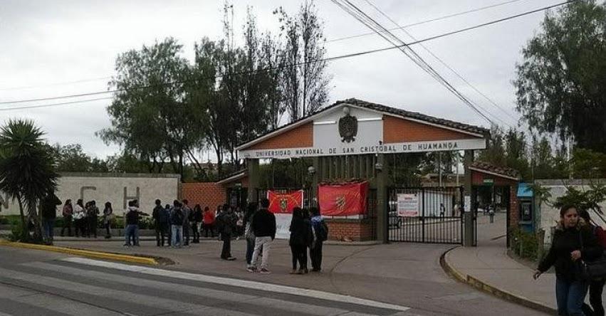 Sube el costo para postular a la Universidad de Huamanga - www.unsch.edu.pe