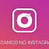 Estamos no INSTAGRAM ♥