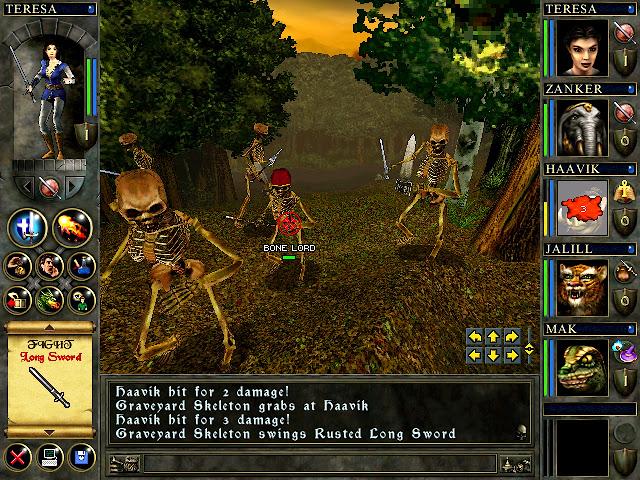 Wizards & Warriors - Skeletons